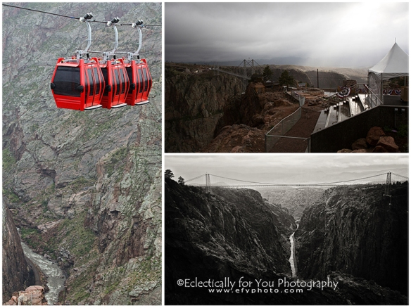 Royal Gorge in the Rain
